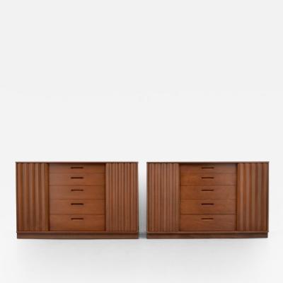 Edward Wormley Pair of Edward Wormley Cabinets