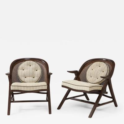 Edward Wormley Pair of Edward Wormley Chairs