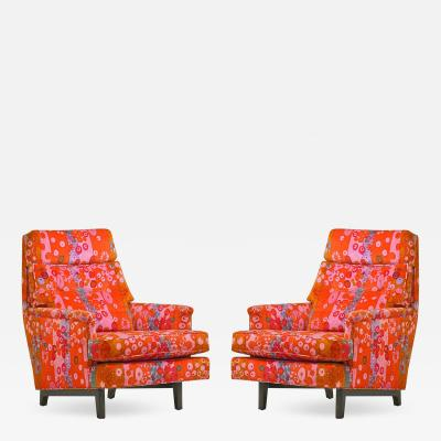 Edward Wormley Pair of Edward Wormley for Dunbar Lounge Chair