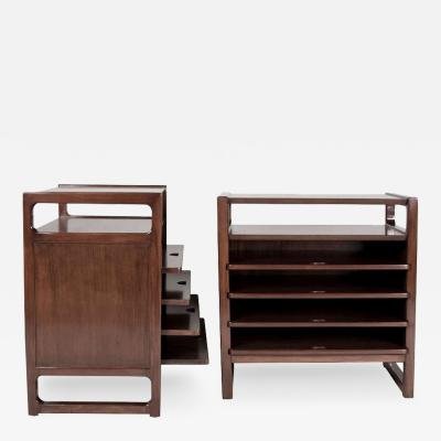 Edward Wormley Pair of Magazine Tables for Drexel