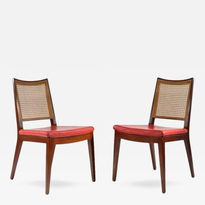 Edward Wormley Pair of Side Chairs by Edward Wormley for Dunbar