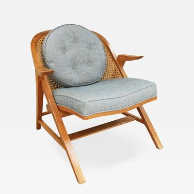 Edward Wormley Rare and Exceptional Lounge Chair by Edward Wormley