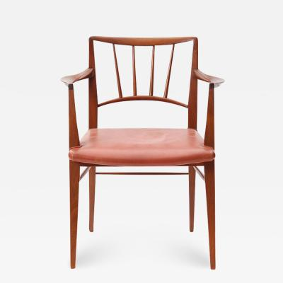 Edward Wormley Set of Twelve Dining Chairs by Edward Wormley for Dunbar