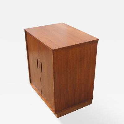 Edward Wormley Small Cabinet by Edward Wormley for Dunbar