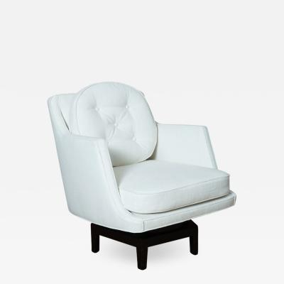 Edward Wormley Swivel Armchair by Edward Wormley for Dunbar