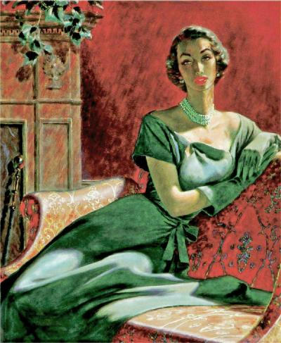 Edwin Georgi Portrait of a Woman