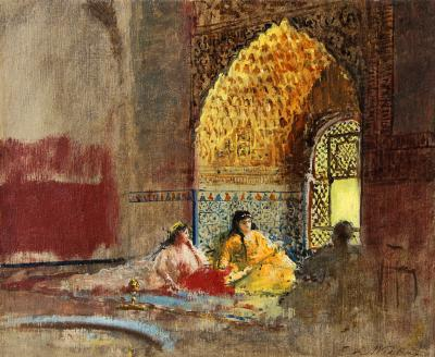 Edwin Lord Weeks Interior of La Torre des Infantas The Alhambra
