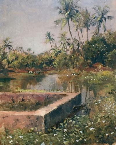 Edwin Lord Weeks Sacred Lake Bombay