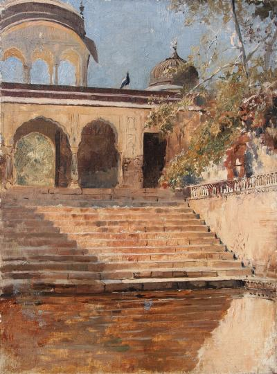 Edwin Lord Weeks Steps in Sunlight India