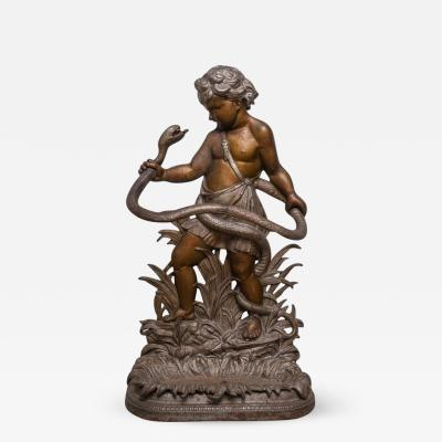 Edwin Theophilus Smith Neoclassical Revival Umbrella Stand