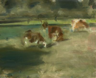 Edwin Walter Dickinson Cows