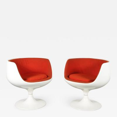 Eero Aarnio 1960s Cognac Chairs by Eero Aarnio for Asko Finland 1960