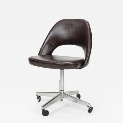 Eero Saarinen Eero Saarinen Office chair Leather 60s