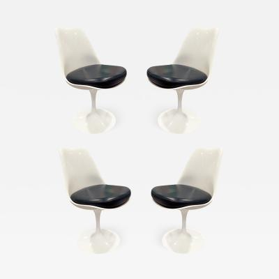 Eero Saarinen Eero Saarinen Set of 4 Swiveling Tulip Chairs for Knoll 1960s signed