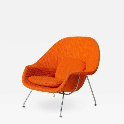 Eero Saarinen Eero Saarinen Womb Chair with Original Upholstery and Steel Frame