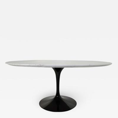 Eero Saarinen Eero Saarinen for Knoll 60 Inch Marble Top Tulip Table 1970s