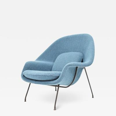 Eero Saarinen Eero Saarinen for Knoll Early Womb Chair in new Larsen Upholstery