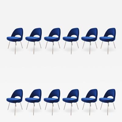 Eero Saarinen Knoll Eero Saarinen Armless Executive Chair 8 Available in Mohair