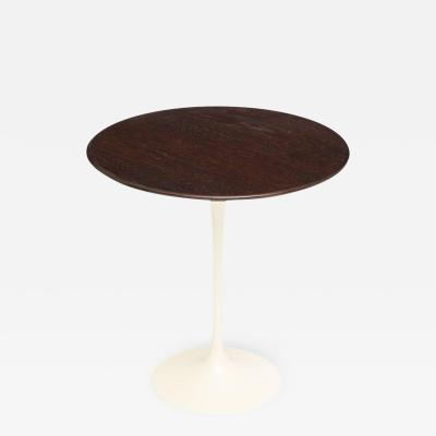 eero saarinen knoll saarinen side table oak table signed usa 1970s