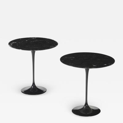 Eero Saarinen Pair of Coffee Tables Model Tulip by Eero Saarinen Edited by Knoll