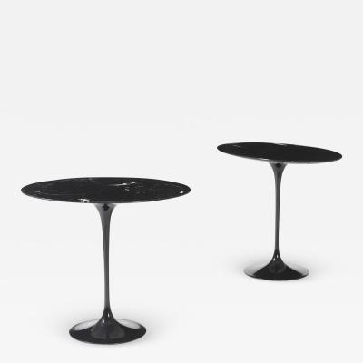 Eero Saarinen Pair of Side Tables Mod Tulip Designed By Eero Saarinen For Knoll