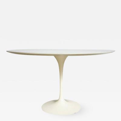 Eero Saarinen Saarinen Knoll Dining Table White Laminate USA 1960s
