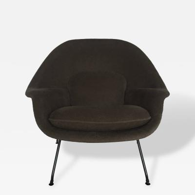 Eero Saarinen Saarinen Womb Chair for Knoll Reupholstered in Loro Piana Alpaca