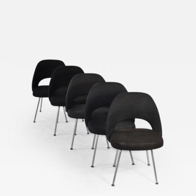 Eero Saarinen Set of Four Vintage Eero Saarinen Chairs for Knoll