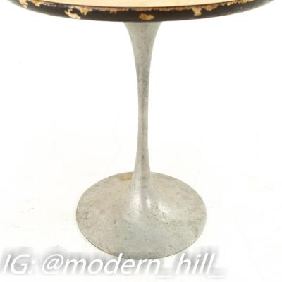 Eero Saarinen Style Mid Century Tulip Base Side End Table