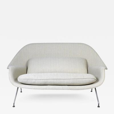 Eero Saarinen Womb Sofa by Eero Saarinen for Knoll