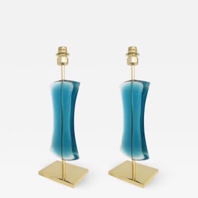 Effetto Vetro Mare Table Lamp by Effetto Vetro for Gaspare Asaro