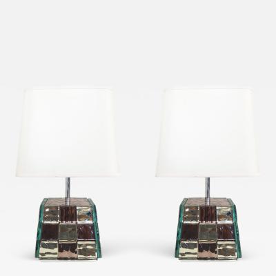 Effetto Vetro Riflesso Table Lamp by Effetto Vetro for Gaspare Asaro