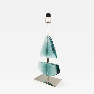 Effetto Vetro Vela Table Lamp by Effetto Vetro for Gaspare Asaro