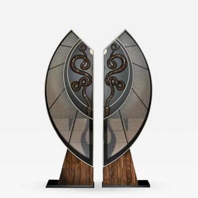 Egli Design Egle Mieliauskiene Black Snake Cabinet
