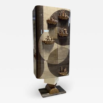 Egli Design Egle Mieliauskiene Circle of life cabinet bar