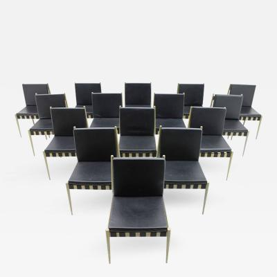 Egon Eiermann Large Set of 60 Dining Room Chairs by Egon Eiermann Se 121 Germany 1964