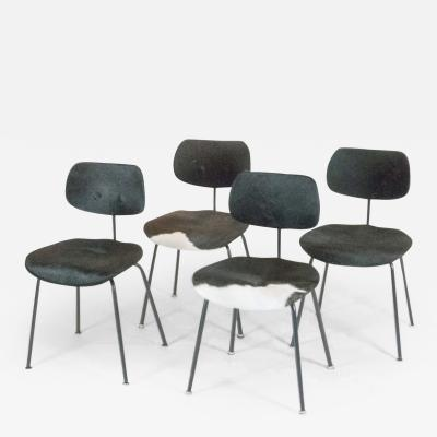 Egon Eiermann Set of Four SE 68 Chairs by Egon Eiermann