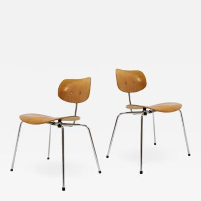 Egon Eiermann Side Chairs by Egon Eiermann for Wilde Spieth