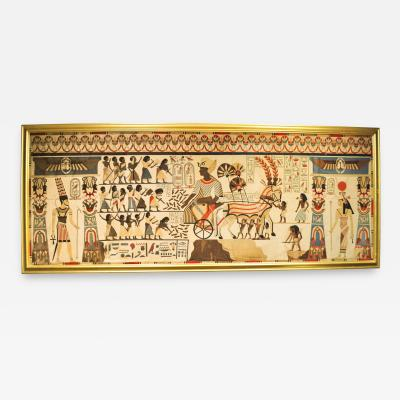 Egyptian Revival Tapestry c 1870 French