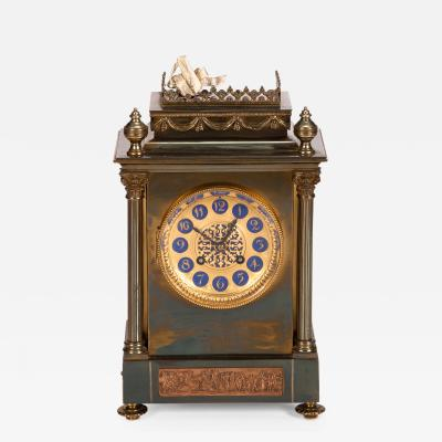 Eight Day French Mantle Clock