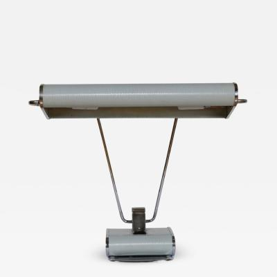 Eileen Gray Famous Desk Lamp by Eileen Gray for Jumo Editor Art Deco circa 1945