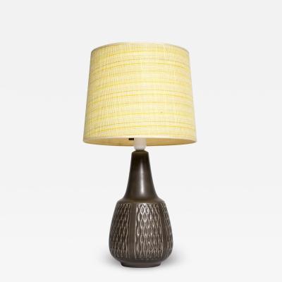 Einar Johansen Brown table lamp Einar Johansen Soholm 1960s
