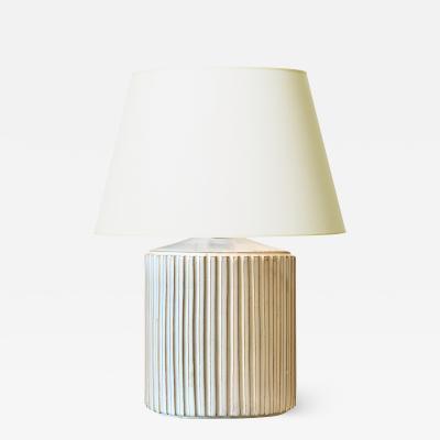 Einar Johansen Fluted Lamp by Einar Johansen