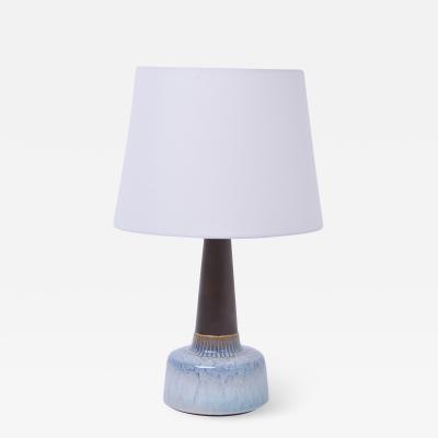 Einar Johansen Mid Century Modern Stoneware table Lamp by Einar Johansen for S holm