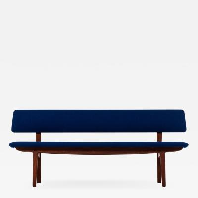 Ejner Larsen Aksel Bender Madsen Bench Sofa Produced by N stved M bler in Denmark