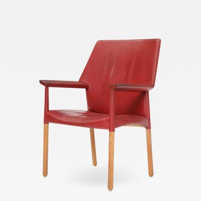 Ejner Larsen Aksel Bender Madsen LEATHER ARM CHAIR