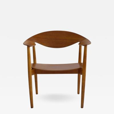 Ejner Larsen Aksel Bender Madsen Metropolitan Chair by Madsen and Larsen