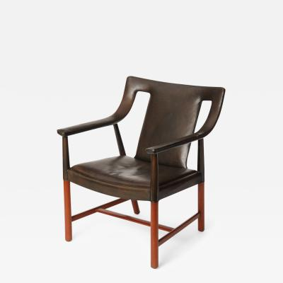 Ejner Larsen Aksel Bender Madsen Tailored Armchair by Larsen and Madsen