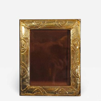 Elaborate Art Deco Silver Plated Picture Frame