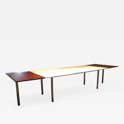 Elaine Lustig Cohen Elaine Lustig Cohen Marble Extension Table